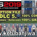 PES 2019 PS4 Option File DLC 5.0 AIO by Rvgrapha