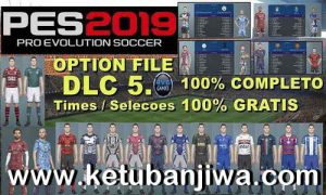 PES 2019 PS4 Option File DLC 5.0 AIO by Rvgrapha Ketuban Jiwa