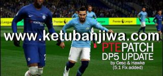PES 2019 Unofficial PTE Patch Update DLC 5.01