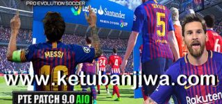 PES 2017 Unofficial PTE Patch 9.0 AIO Season 2019