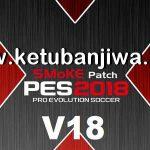 PES 2018 SMoKE Patch 18.0.0 AIO Season 2019 Single Link