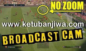 PES 2019 Broadcast Camera Zoom Disabler For DLC 6.0 by Digitalfoxx Ketuban Jiwa