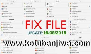 PES 2019 Mobile Android Minimum Patch v3.2.1 Fix File Update 16 May 2019
