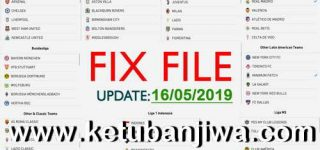 PES 2019 Android Minimum Patch 3.2.1 Fix Update 16/05/2019