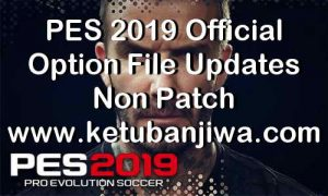 PES 2019 Official Option File 09 May 2019 For Non Patch