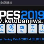 PES 2019 PES Tuning Patch 1.05.01.5.01.1 DLC 5.01 AIO