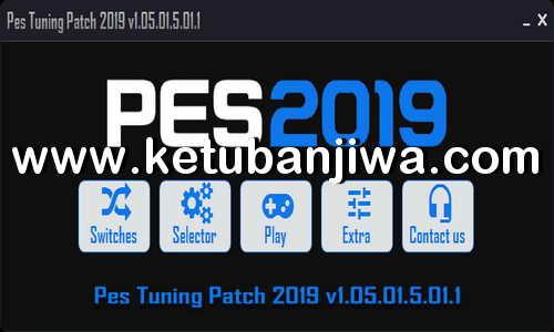 PES 2019 PES Tuning Patch v1.05.01.5.01.1 DLC 5.01 AIO For PC Ketuban Jiwa