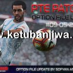 PES 2019 PTE Patch 3.1 Option File Update 09 May 2019
