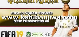 FIFA 19 XBOX360 Squad Update Summer Transfer 17/06/2019