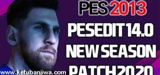 PES 2013 PESEdit 14.0 New Season Patch 2020 + Fix Update Single Link by Minosta4u Ketuban Jiwa