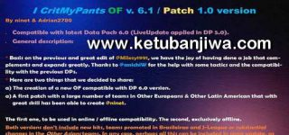 PES 2019 ICritMyPants Patch 6.0 AIO + 6.1 Update Fix DLC 6.0
