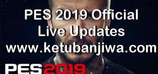 PES 2019 Official Live Update 13 June 2019