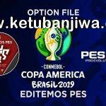 PES 2019 PS4 Copa America 2019 Option File