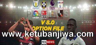 PES 2019 PS4 PESNews Option File 8.0 AIO DLC 6.0