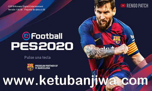 PES 2020 Graphic Menu Themes For PES 2019 by Rengo Pach Ketuban Jiwa