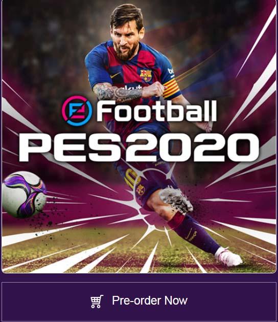 Pre-Order PES 2020