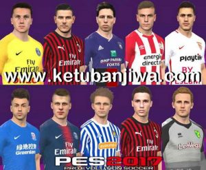 PES 2017 Option File 09 July 2019 For SMoKE Patch v17.0.6 by PES World Ketuban Jiwa