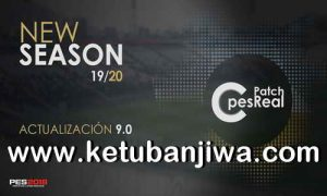 PES 2018 C-PesReal Patch 9.0 AIO New Season 19-20 For XBOX 360 Ketuban Jiwa