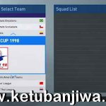 PES 2019 PS4 Classic World Cup 1998 Full Patch