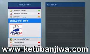 PES 2019 Classic World Cup 1998 Full Patch For PS4 by Georgi Todorov Ketuban Jiwa