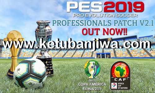 PES 2019 Mini Update For Professionals Patch v2.1 Ketuban Jiwa