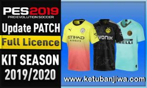 PES 2019 Mobile Android Minimum Patch v3.3.1 Fix Update 19 July 2019 AIO Season 19-20 Ketuban Jiwa