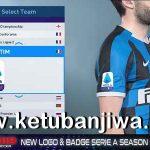 PES 2019 New Logo + Badge Serie A Season 19/20