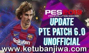 PES 2019 Option File Summer Transfer Update 16 July 2019 For Unofficial PTE Patch 6.0 Ketuban Jiwa