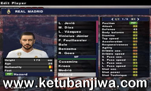 PES 2019 PS2 English Version Summer Transfer Season 19/20