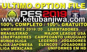 PES 2019 PS4 Option File DLC 6.0 AIO New Season 19-20 by Rvgrapha Ketuban Jiwa