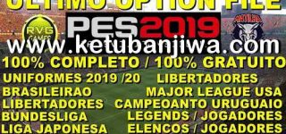 PES 2019 PS4 Option File DLC 6.0 AIO New Season 19/20