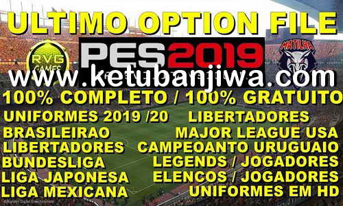 PES 2019 PS4 Option File DLC 6.0 AIO New Season 19/20