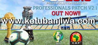 PES 2019 Professionals Patch 2.1 Update Single Link