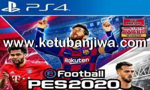 eFootball PES 2020 Demo Corect Names Option File For PS4 by Duck No.99 Ketuban Jiwa