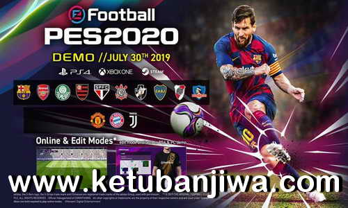 eFootball PES 2020 Demo PS4 Direct Link Ketuban Jiwa