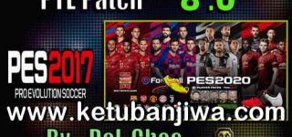 PES 2017 Unofficial PTE Patch 8.0 Option File 22/08/2019