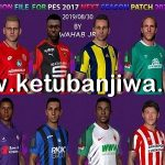 PES 2017 Next Season Patch 2020 Option File 30/08/2019