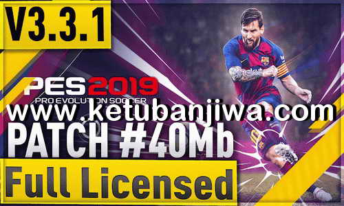 PES 2019 Android Minimum Patch v3.3.1 Fix Update AIO 08 August 2019 Season 19-20 Ketuban Jiwa