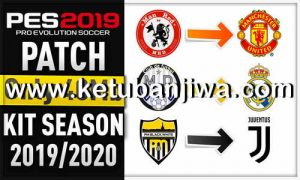 PES 2019 Mobile Android Minimum Patch v3.3.1 Fix Update 01 Agustus 2019 AIO Season 19-20 Ketuban Jiwa