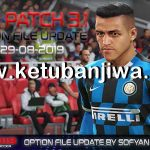 PES 2019 PTE Patch 3.1 Option File Summer Transfer 29/08/2019