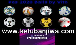 eFootball PES 2020 Balls Pack v1 + v2 For PC Demo by Vito Ketuban Jiwa