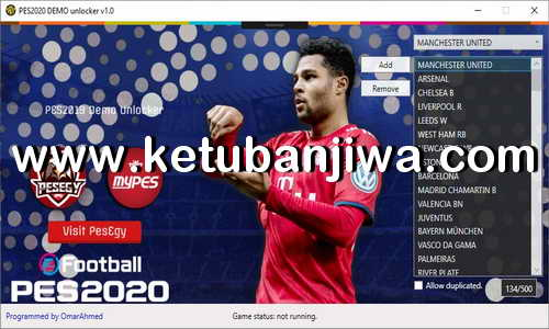 eFootball PES 2020 Demo Unlocker 1.0 Tools