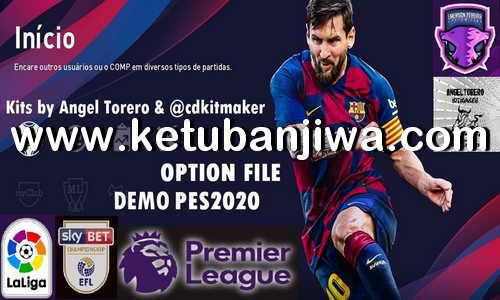 eFootball PES 2020 PS4 Option File For Demo by Emerson Pereira Ketuban Jiwa