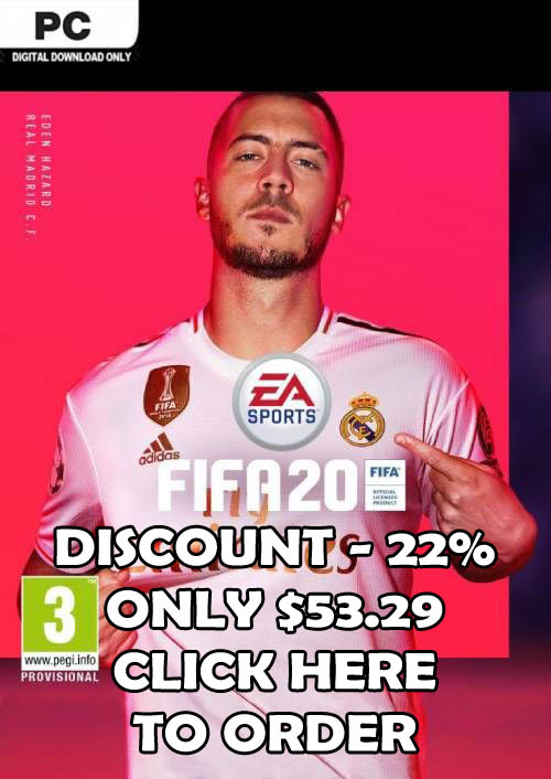 Order FIFA 20 For PC With -22% Discount