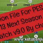 PES 2013 Next Season Patch 9.0 Option File 31/08/2019