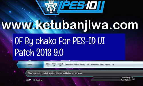 PES 2013 Option File Summer Transfer v4 For PES-ID UI Patch 9.0 Season 2020 by Chako Ketuban Jiwa