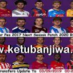 PES 2017 Next Season Patch 2020 Option File 03/09/2019