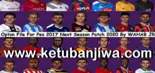 PES 2017 Next Season Patch 2020 Option File 03/09/2019