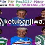 PES 2017 Next Season Patch 2020 Option File 05/09/2019