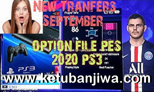 PES 2018 PS3 Option File Final Summer Transfer For Potato v8
